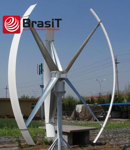 Ветряной вертикальный генератор