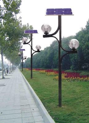 Solarna lampa parkowa