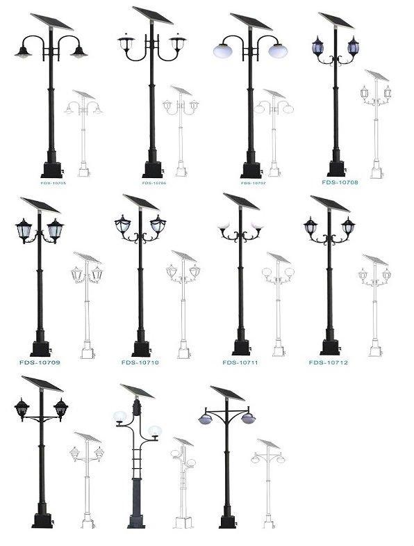 Lampy Solarne Parkowe Parkowa Lampa Solarna Brasit