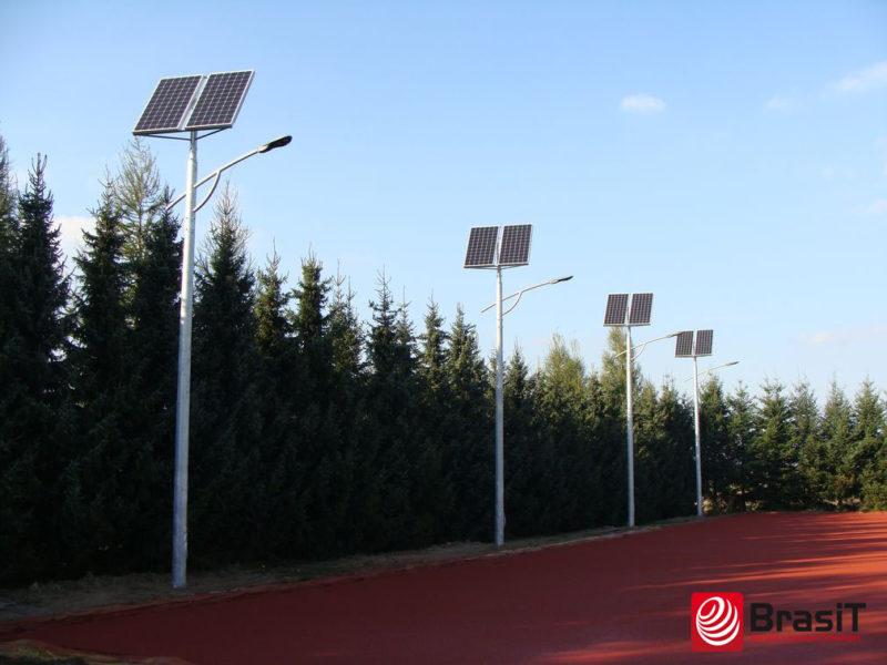 Solarna lampa uliczna, Solarne lampy uliczne