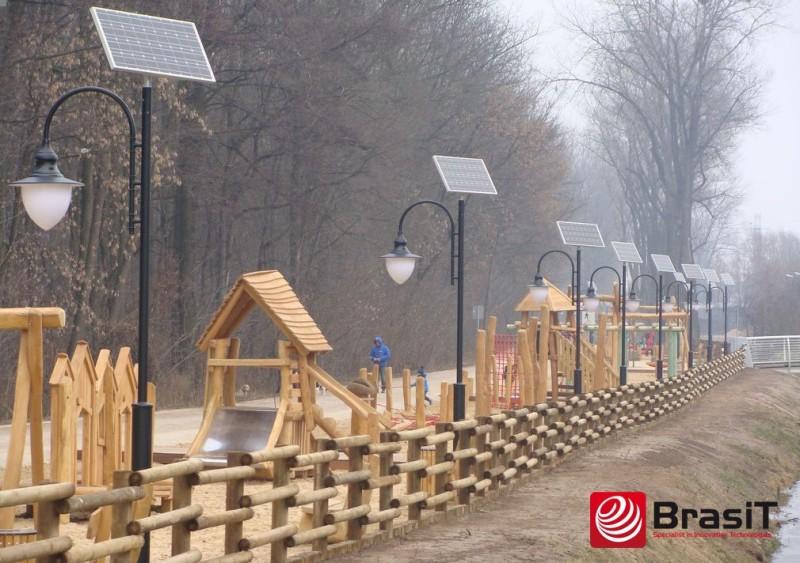 Solarna lampa ogrodowa - BrasiT