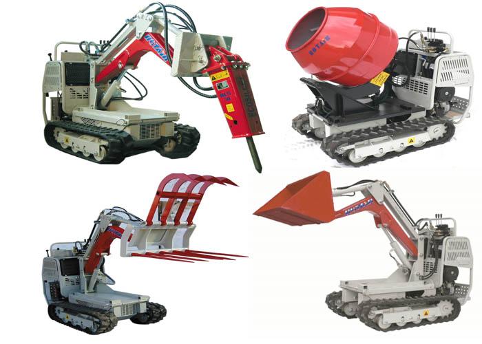 Gąsienicowe Maszyny Budowlane Rotair - BrasiT