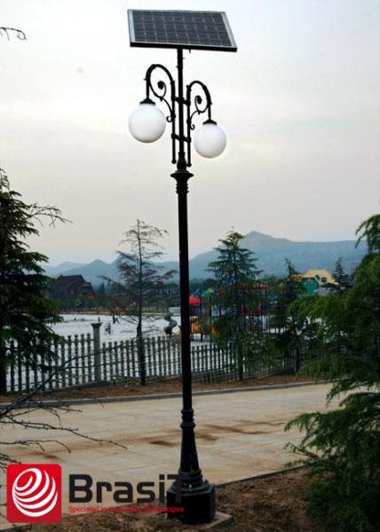 Solarna lampa ogrodowa LED - BrasiT