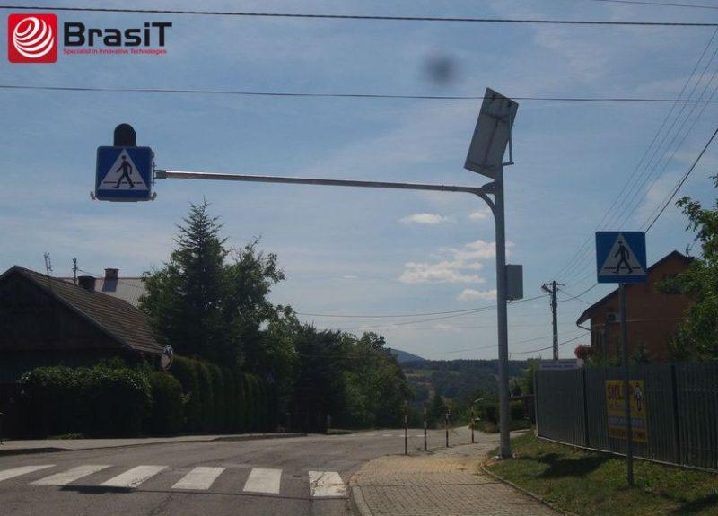 Solarny znak aktywny D6 - BrasiT