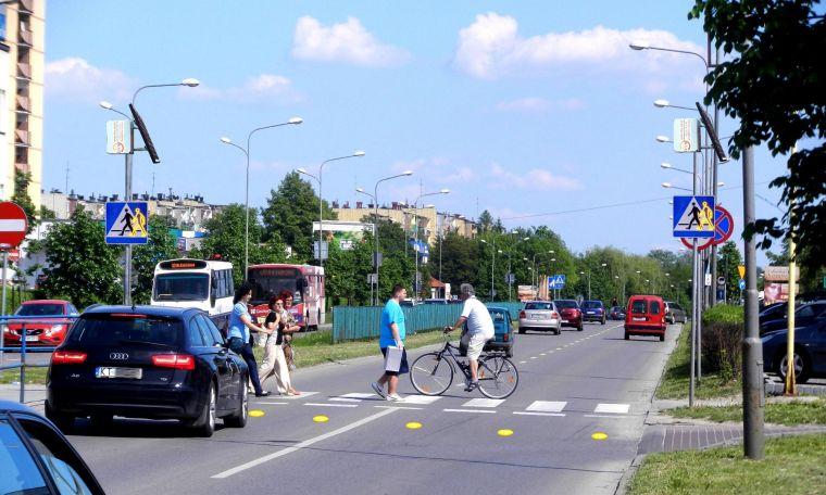 Znak aktywny D6 Kroczący ludzik