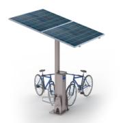 Solarna wiata rowerowa SWRT2
