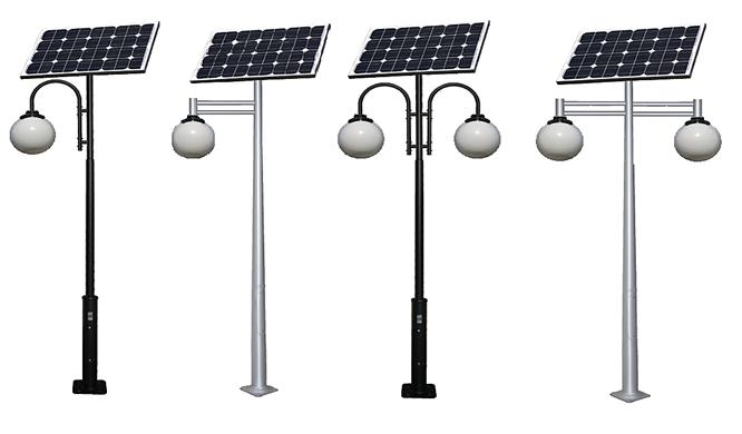 Solar park lamps