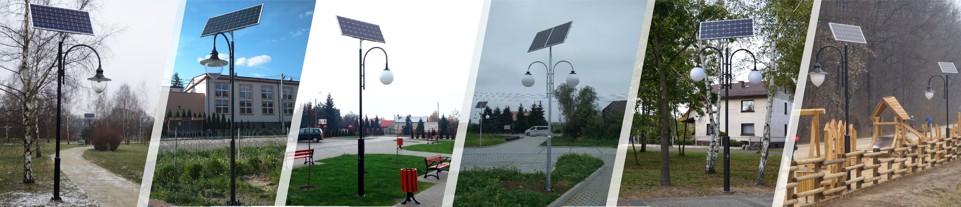 Solarne Lampy Uliczne Brasit