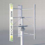 Pionowa Elektrownia wiatrowa 300W