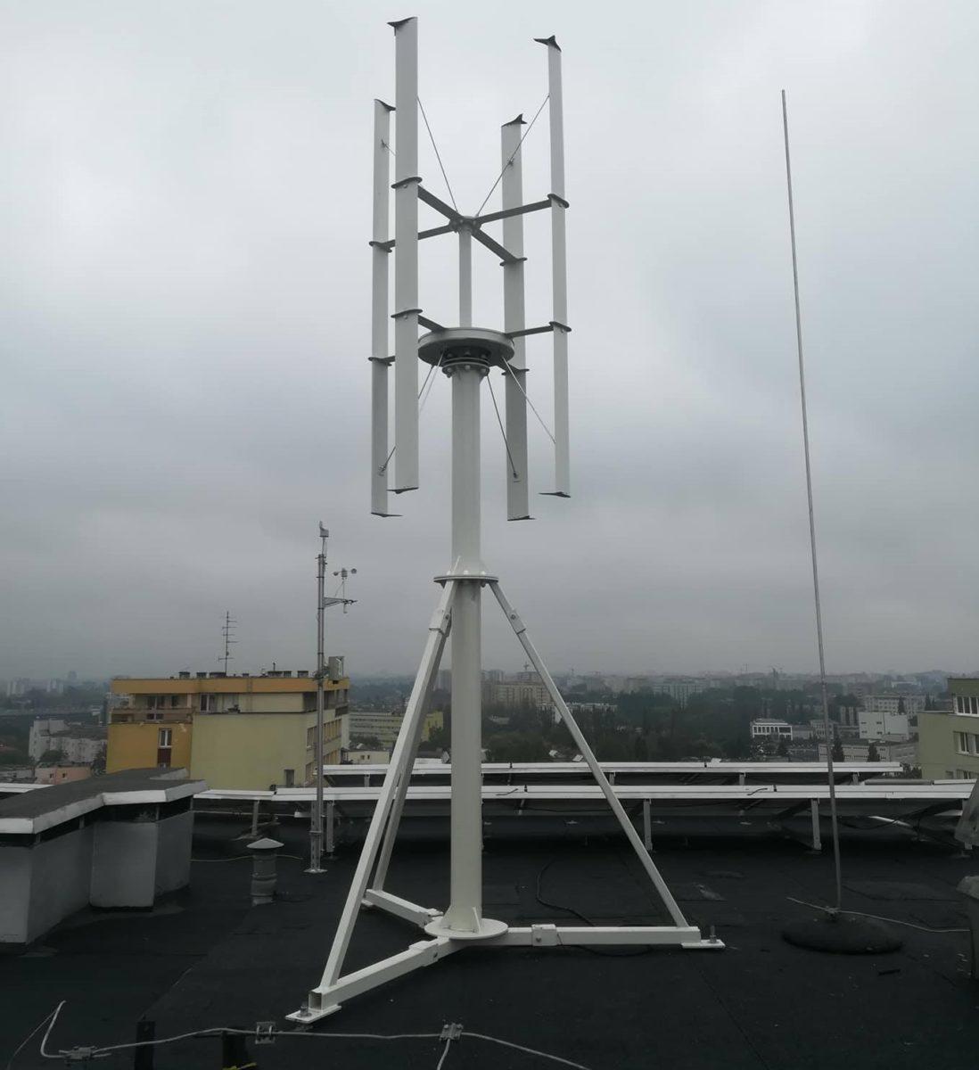 Pionowa elektrownia wiatrowa HIP-V 1,5kW