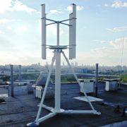 Pionowa elektrownia wiatrowa HIP-V 1kW