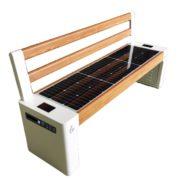 Ławka solarna sSEC15