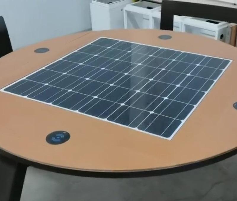 Solarna ławka piknikowa sSEC11 stół