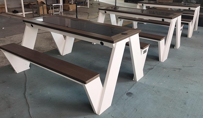 Solarna ławka piknikowa sSEC12 BrasiT
