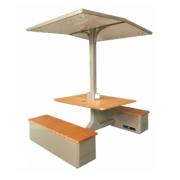 Solarna ławka piknikowa sSEC13