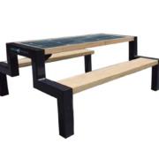 Solarna ławka piknikowa sSEC18